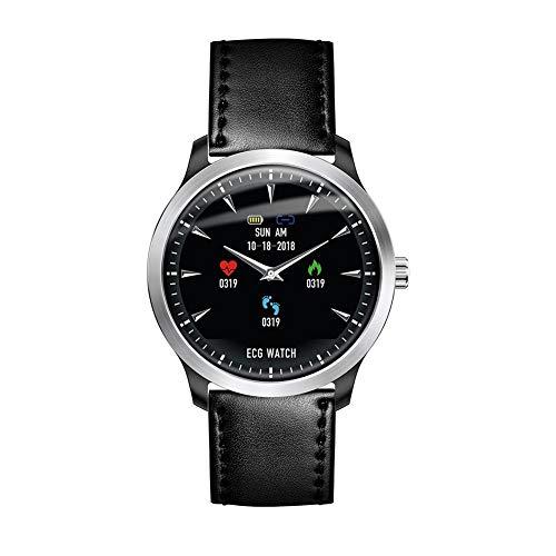 likeitwell N58 Bluetooth Smart Watch IP67 WasserDicht mit HerzFrequenz-Test EKG-Test 1,22 Zoll