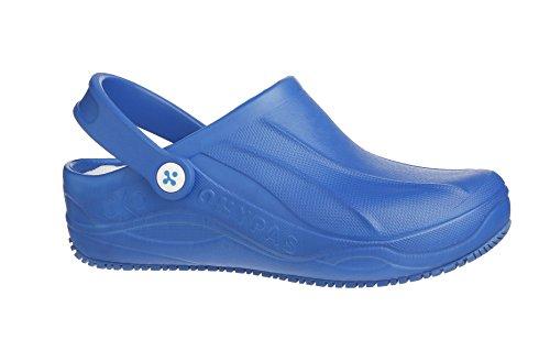 OXYPAS Smooth, Chaussures de sécurité femme Blanc (ebl)