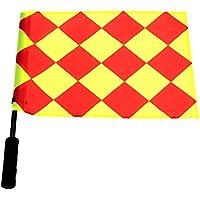 Forfar Bandera del árbitro del fútbol 1 pc La Copa Mundial Jugar al partido deportivo Linesman de fútbol Equipo de Compe