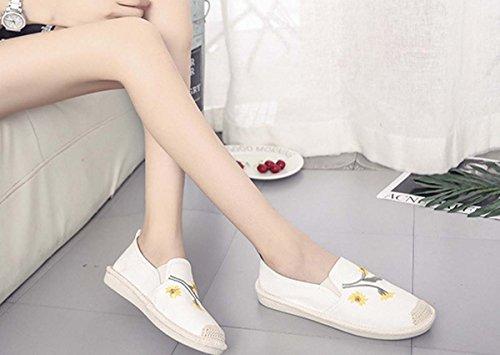 Scarpe Da Passeggio Scarpe Da Donna In Morbida Pelle Morbida In Pizzo Scarpe Di Sicurezza In Cuoio Autunno Con Tacco In Tacco White