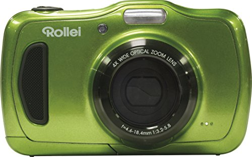 Galleria fotografica Rollei Sportsline 100 Compact camera 20MP 5152 x 3864pixels Green - Digital Cameras (20 MP, 5152 x 3864 pixels, 4x, HD, 162 g, Green)