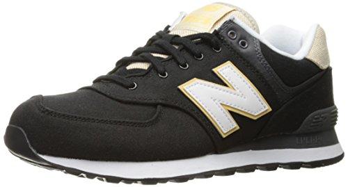 New Balance ML574-RTD-D Sneaker Herren schwarz / beige