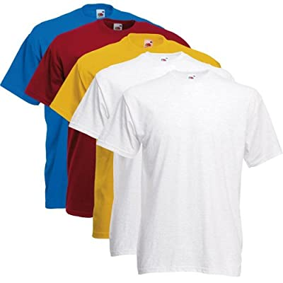 Fruit of the Loom T-Shirts 5 Pack - Super Premium T - color set 2