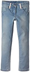 United Colors of Benetton Baby Girls Jeans (15P4AC657850G9010Y_Blue_0Y)