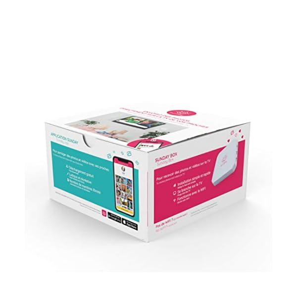 SUNDAY-Box-Super-Cadeau-fte-des-mres-Photos-Vidos-sur-la-TV-en-Multi-utilisateurs