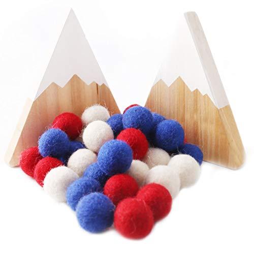 Promise Babe Filz Ball 100% Wolle 50pc 20mm Diy Dekoration Girlande Handgefertigt Pom Poms Hängende Ornamente Katzen Spielzeug