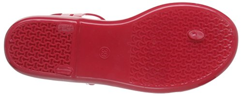 Tommy Hilfiger J1285avea 2r, Tongs femme Rouge (NEW BARBERRY 924)