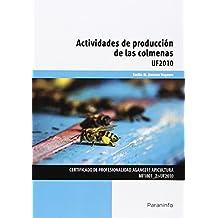 Actividades de producción de las colmenas (Cp - Certificado Profesionalidad)