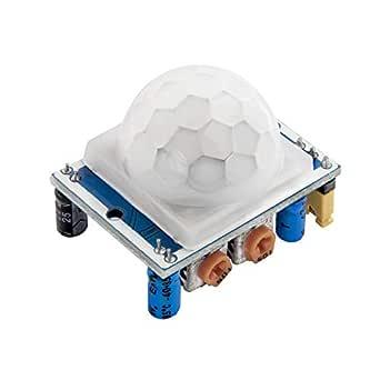 AZDelivery HC-SR501 PIR Bewegungssensor Bewegungsmelde Modul kompatibel mit Arduino inklusive E-Book!