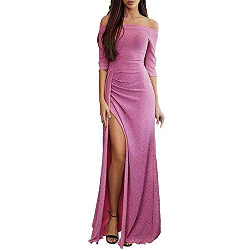 9d06a3dd4331 UJUNAOR Vestito Donna Senza Spalline Abito Donna Eleganti da ...