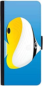 Snoogg A Vector Illustration Of A Yellowdesigner Protective Flip Case Cover F...