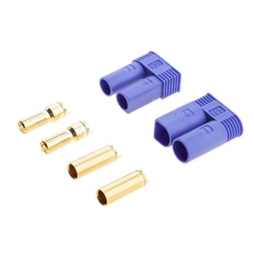 MagiDeal-Set-Connettori-Batteria-Tipo-EC5-Femmina-Maschio-50mm-Presa-Banana-Proiettile