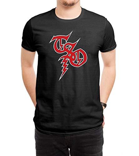FANGYONGX Herren Funny Trans-Siberian Orchestra Logo T Shirt Tees Black -