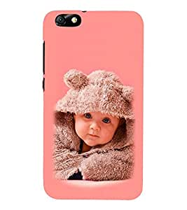 Vizagbeats Baby Rabbit Sweater Back Case Cover for HUAEWI Honor 4X