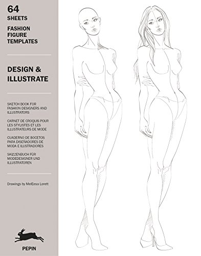 Design & Illustrate: 1: Fashion Figure Templates