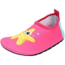 Zapatos de Agua Niño Qimaoo Zapatos de Agua de Natación Niños Zapatos de  Playa para Niños 4ee72b07437