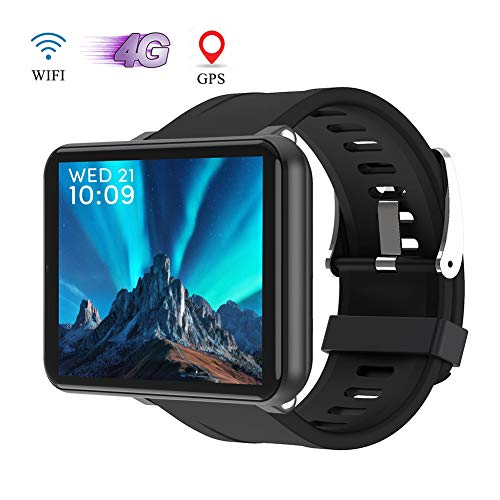 OOLIFENG Android 7.1 4G GPS Relojes Inteligentes para Hombres Mujeres, Bluetooth Fitness...