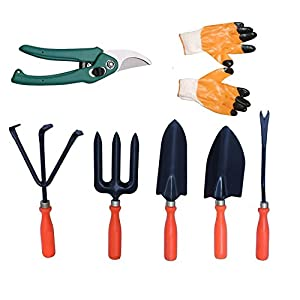 Truphe Gardening Tools Set Kit of 8