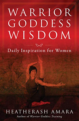 Warrior Goddess Wisdom: Daily Inspirations for Women (A Frances Yates Mystery) (English Edition)