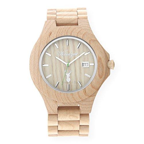 Waidzeit Herrenuhr Holz STEINBOCK Premium ST01