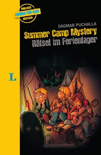 Summer Camp Mystery  – Rätsel im Ferienlager - zweisprachig Deutsch - Englisch: Krimi für Kids (Englische Krimis für Kids)