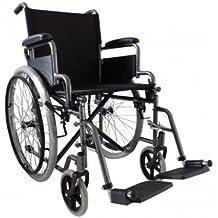 Cochecito estándar practica EP 45 Cochecito plegable silla de ruedas para discapacitados y personas mayores Via