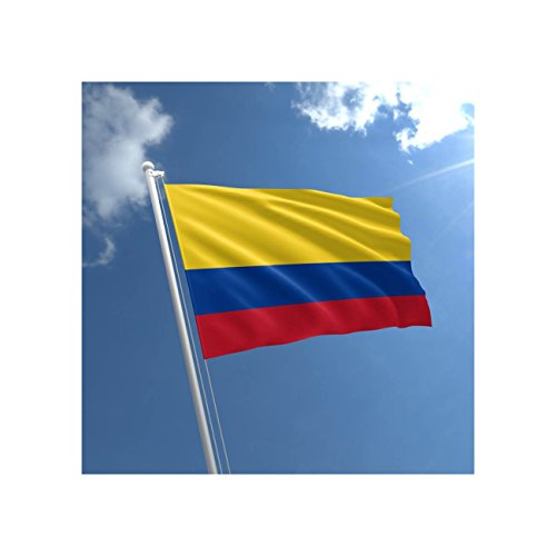 Groß 5'x3' Flagge Kolumbien Premium Qualität kolumbianischen Supporter Flagge Fans Dekoration