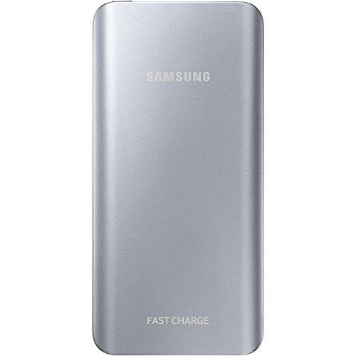 Samsung Externer Akkupack (5200mAh) mit Schnellladefunktion, silber (Note Externes 2 Ladegerät Samsung)