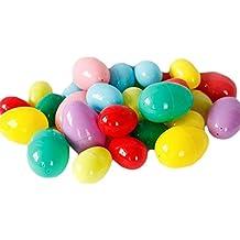 12X Demarkt Huevos de Pascua de Plástico para Rellenar de Dulces y Ofrecer como Divertidos Premios