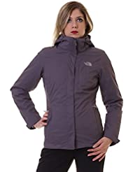 The North Face Down Jackets W Alteo Triclimate Jk Grey Xs