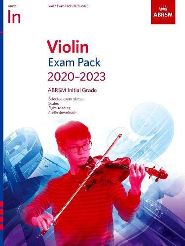 Violin Exam Pack 2020-2023, Initial Grade: Score & Part, with audio (ABRSM Exam Pieces) Grade Audio