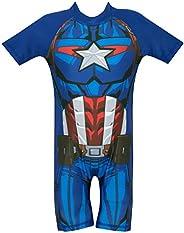 Marvel Avengers - Bañador para niño - Capitan America