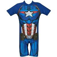 Marvel Avengers - Bañador para niño - Captain America