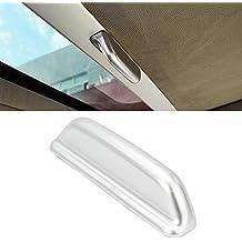 SENZEAL - Cubierta para manija de Techo de Coche, Accesorios Interiores ABS Mate para VW