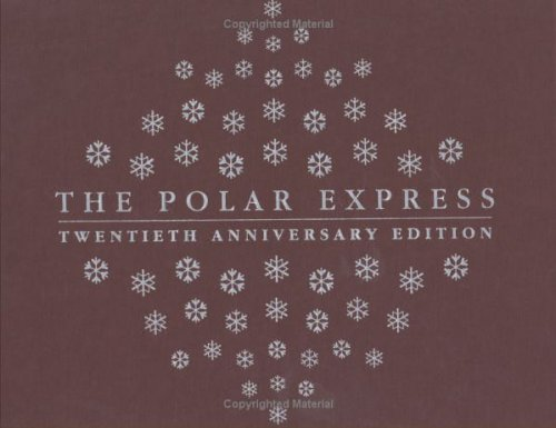 Book cover for The Polar Express