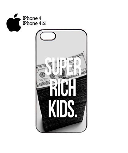 Super Rich Kids Money Dollar Posh Mobile Phone Case Cover iPhone 6 Plus + White Noir