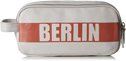 Liebeskind Berlin Damen Giselle Kosmetiktäschchen, Beige (Koi Beige 9305), 22x11x6 cm