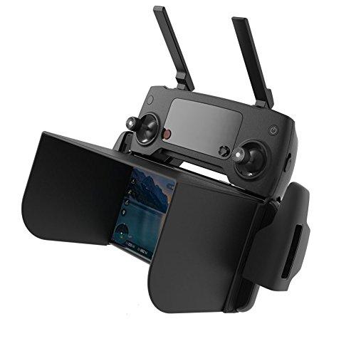 Antenne Signal Booster für DJI Mavic Pro Fernbedienung Erweiterung Board Erweiterung Reichweite Parabol Antenne Schwarz UNIKEL Iphone Antenne Booster