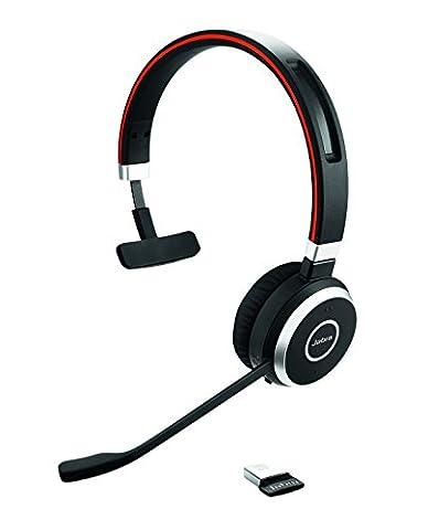 Jabra Evolve 65 MS MONO Kits Oreillette Bluetooth