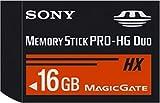 Sony Memory Stick PRO-HG Duo HX 16GB - Tarjeta de memoria (16 GB, Negro, -25 - 85 °C, 3,1 cm, 2 cm, 1,6 mm)