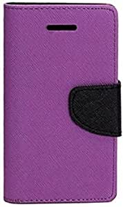 OM Synthetic Leather Mercury Flip Covers for LeEco Le Max 2-Purple&Blue