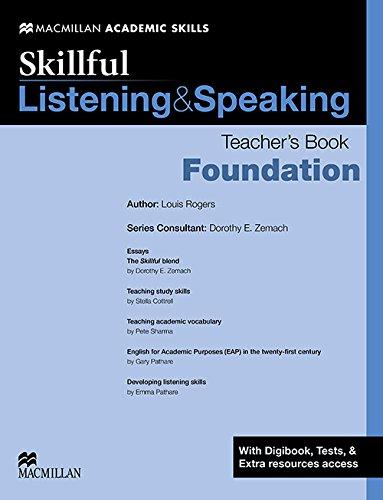 Skillful - Listening & Speaking - Foundation Level Teacher Book