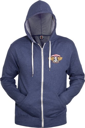 Powell Peralta Winged Ripper Kapuzen Sweatshirt navy