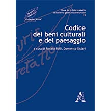 Il codice dei beni culturali e del paesaggio libri for Codice promozionale amazon libri scolastici