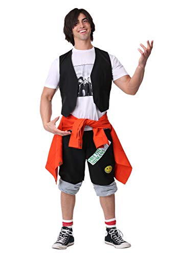 Bill & Ted's Excellent Adventure Adult Ted Fancy Dress Costume Small