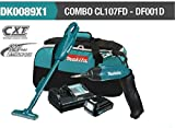Makita DK0089X1 Cordless Combo Kit (CL107FD Vacuum Cleaner + DF001D Screwdriver)