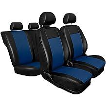CM-BL Universal Fundas de asientos compatible con SEAT AROSA I II (cuero ecológico)