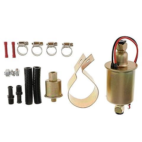 Gazechimp Kraftstoffpumpe Benzin Diesel Universal Elektrische Baumaschine Mit Installation Kit