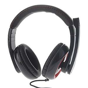 Brilliant- sperme gh906 jeu stéréo de haute qualité sur l'oreille casque avec micro , Blanc