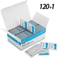MOSSLIAN Toallitas de Limpieza para Lente,Ordenador,Teléfono,Pantalla LCD,120+1